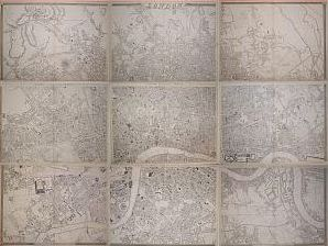 Cassell, Petter & Galpin's Map of London 1863